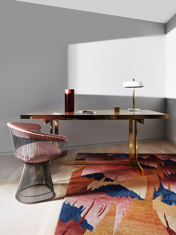Deirdre Dyson Exclusive Carpets and Rugs Golden Pheasant