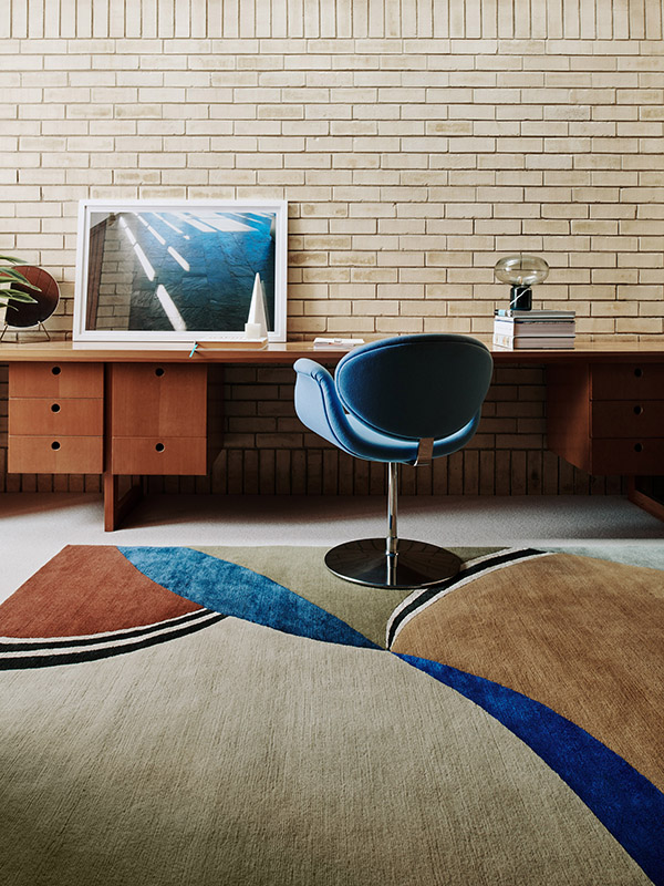 Deirdre Dyson Exclusive Carpets and Rugs Madarin
